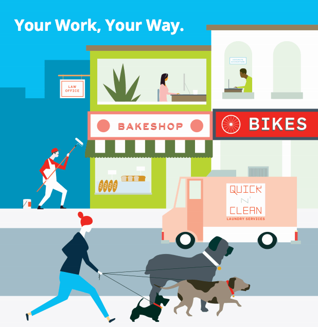 What does Your Work, Your Way mean for your business?
