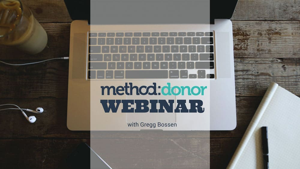[Webinar] An Introduction to Method:Donor