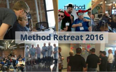 Highlights from Method Retreat 2016