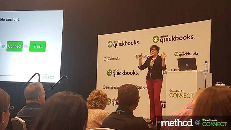 Mastering the Art of Social Media: Veronica Wasek at QuickBooks Connect