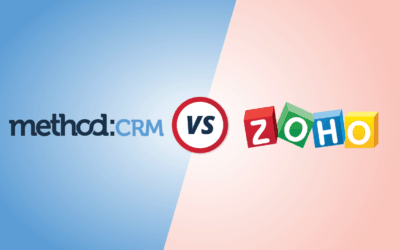CRM Comparison: Method vs. Zoho [Infographic]
