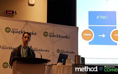 Growing Your Business Through Content Marketing: Bram Warshafsky at QuickBooks Connect