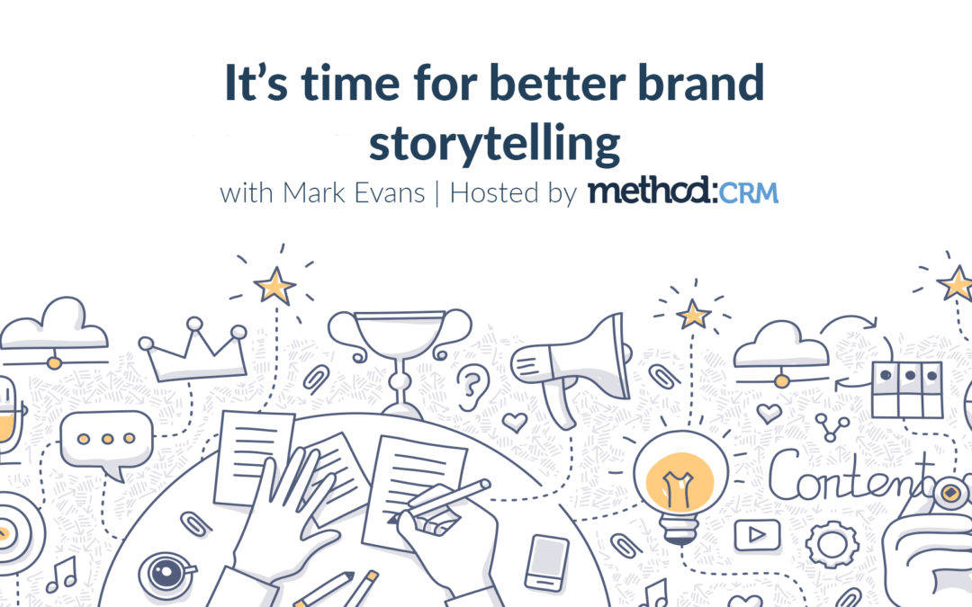 You're Invited: Brand Storytelling Workshop with Mark Evans