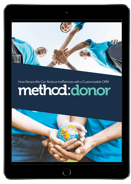 Ipad showing Method Donor ebook
