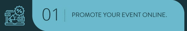 Promote your event online