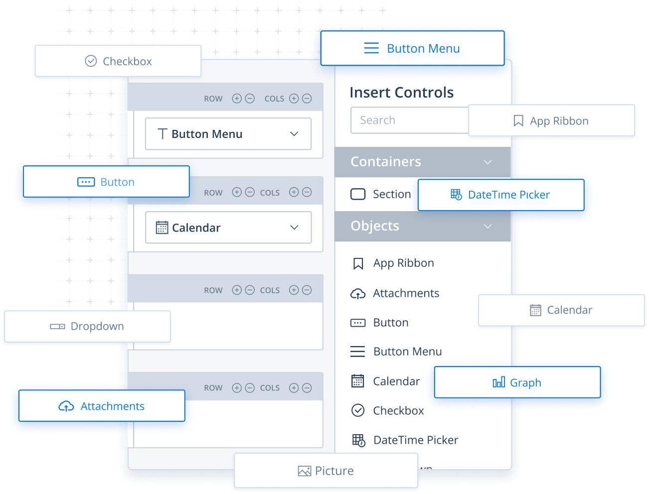 Screen designer in Method's customizable CRM