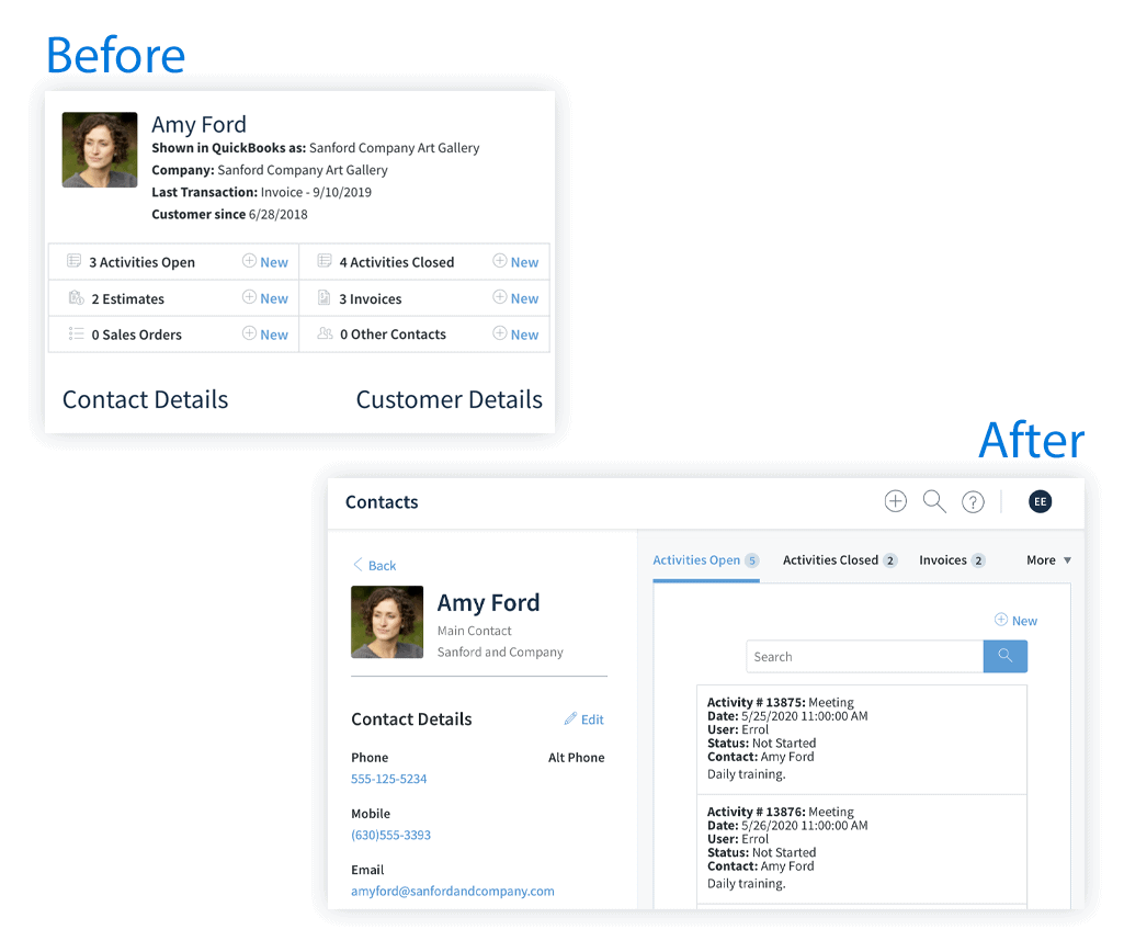 More information at a glance with Method's updated experience